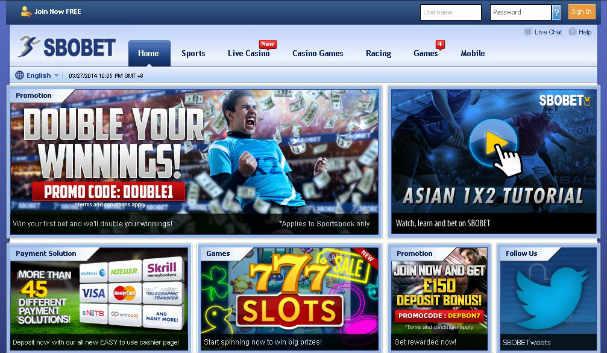 Sbobet merupakan judi online terbesar di indonesia