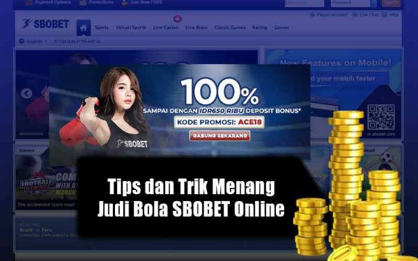 Jenis promosi sbobet indonesia